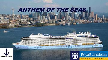 Anthem of the Seas [Scale 1,9:1,Full Interior, real cruise ship replica + Download] Minecraft Map & Project