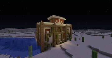 Upgraded Desert Temple Minecraft Map & Project