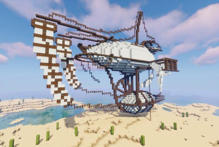 Popular Server Map : Sandskimmer Ship