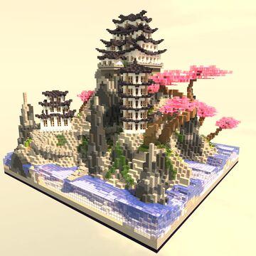 Japanese Island Minecraft Map & Project