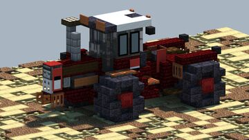 International 4586, Tractor [With Download] Minecraft Map & Project
