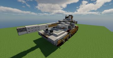 MHT-21 / Tank / Fictional / Schematic 1.12.2 Minecraft Map & Project