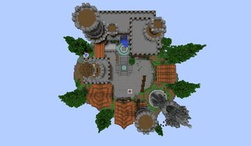 Bedwars Lobby Map + SkyWars Lobby Map Minecraft Map & Project
