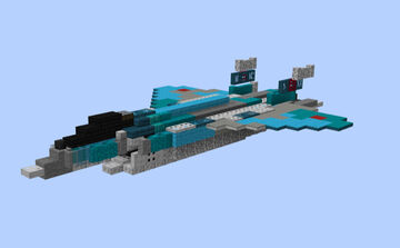 Sukhoi LTS Checkmate (New Russian Fighter MAKS 2021) Minecraft Map & Project
