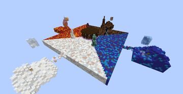 PVP Map (ARENA) - Elemental Wars Minecraft Map & Project
