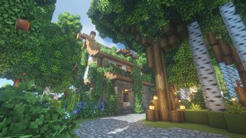 The Cat Cafe Minecraft Map & Project