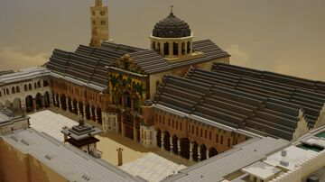 The Umayyad Mosque of Damascus, Syria Minecraft Map & Project