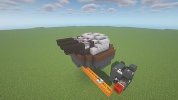 CDT  -  Adjustable TNT Cannon ( Scattershot | Twin Cannon | Turret | Movecraft Compatible ) Minecraft Map & Project