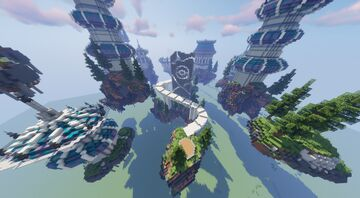 Gale Isle Aka Flying Gym (Commissioned by MagmaBuilds) Minecraft Map & Project