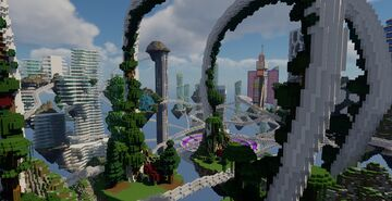 City of Floating Islands Minecraft Map & Project