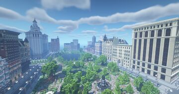 NYC / BIG CITY / CENTRAL PARK Minecraft Map & Project