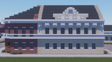 Вышневолоцкий краеведческий музей. / Vyshny Volochyok museum of local lore. Minecraft Map & Project