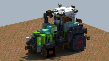 Claas AXION, Tractor [With Download] Minecraft Map & Project