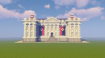 19th century Neo Classical Building Minecraft Map & Project
