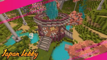 Japan-Lobby Minecraft Map & Project