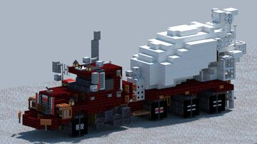 Mack DM690S, Cement Mixer [With Download] Minecraft Map & Project