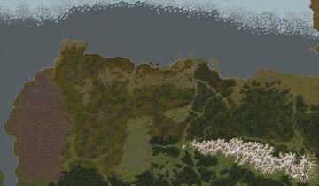 Warhammer: Nordland, Middenland, Ostland, Hochland and The Wasteland Minecraft Map & Project