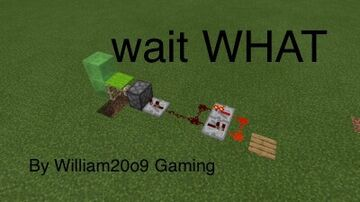 wait WHAT Minecraft Map & Project