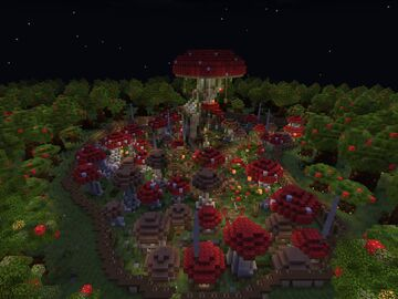 Mushroom Forest Minecraft Map & Project