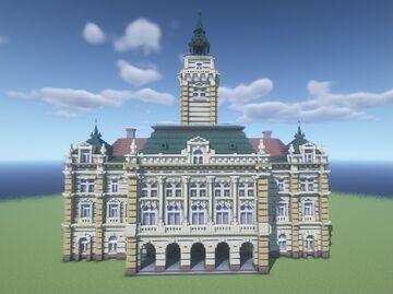Novi Sad Town Hall Minecraft Map & Project