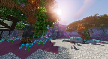 Isle of the Mind Aka Psychic Gym (Commissioned by MagmaBuilds) Minecraft Map & Project