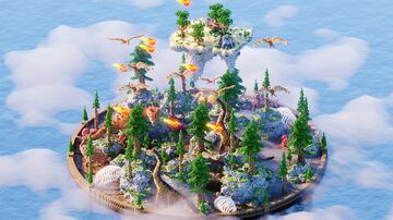 KitPvP ❯ Dinosaur PvP Arena Minecraft Map & Project
