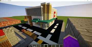 """The walking dead Map """"Early Access"""" Beta V1.0 """"Pharmacy store"""" Minecraft Map & Project"""