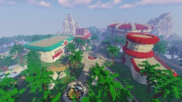 OdysseyGaming Pixelmon / Pokemon Spawn - Gym - City - Town ( Completed Commission by Magma ) Minecraft Map & Project