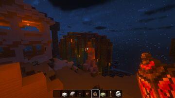 survival map project: 1-cloud village Minecraft Map & Project