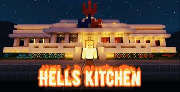 Hell's Kitchen | Gordan Ramsay | Restaurant | Completed Minecraft Map & Project
