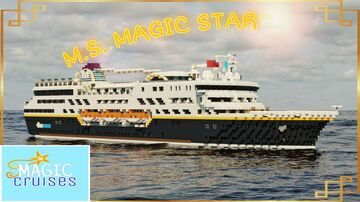 M.S. MAGIC STAR- Remastered Update 2021 [FULL INTERIOR] Minecraft Map & Project