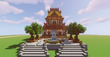 House. Minecraft Map & Project