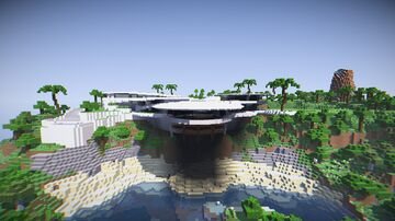 Iron man's house Minecraft Map & Project