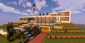 Modern Mansion #2  (Map + Schematic) Minecraft Map & Project
