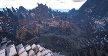 Helgen (Skyrim TES) Minecraft Map & Project
