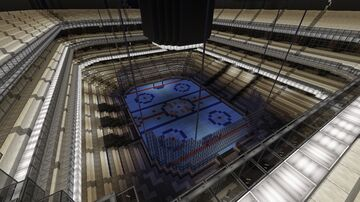 NHL Arena #GoOilers Minecraft Map & Project