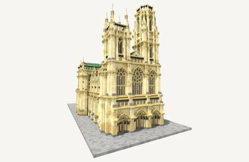 Saint Berdictus Cathedral Minecraft Map & Project