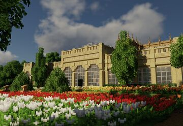 Castle Ashby Orangery Minecraft Map & Project