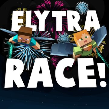 ►Elytra Racing!◄ | Single AND Multiplayer Friendly! ver. 1.1 Minecraft Map & Project