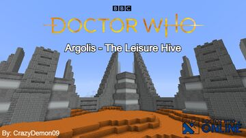 Argolis - The Leisure Hive - Doctor Who Online Minecraft Map & Project