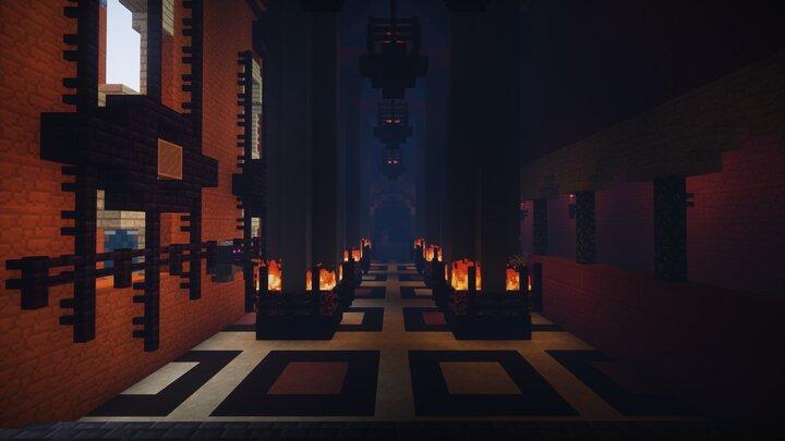 Throne room doors