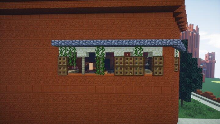 Cercei's balcony