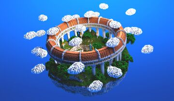 COMMISSION | Greek PVP Arena Minecraft Map & Project