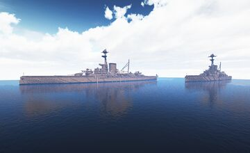HMS Duke of Edinburgh (fictional) Minecraft Map & Project