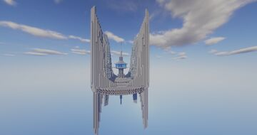 U.S.S. Executioner Space Station Minecraft Map & Project