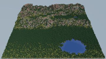 Boreal Mountains 2k [Download] Minecraft Map & Project