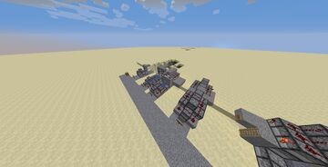 TNT Cannons (NOT CLICKBAIT) Minecraft Map & Project