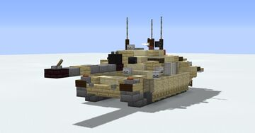 FV4034 Challenger 2 Minecraft Map & Project