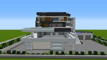 Modern House 1.12.2 (For Cocricot Mod) Minecraft Map & Project