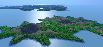 Eliosz Continent (Cultures) Minecraft Map & Project